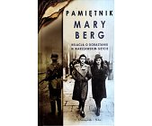 Szczegóły książki PAMIĘTNIK MARY BERG