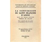 Szczegóły książki LA CONVERSION DE SAINT FRANCOIS