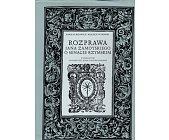 Szczegóły książki ROZPRAWA JANA ZAMOYSKIEGO O SENACIE RZYMSKIM