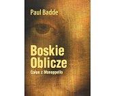Szczegóły książki BOSKIE OBLICZE