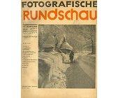 Szczegóły książki FOTOGRAFISCHE RUNDSCHAU - 1936