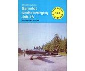 Szczegóły książki SAMOLOT SZKOLNO - TRENINGOWY JAK - 18