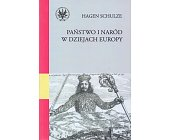Szczegóły książki PAŃSTWO I NARÓD W DZIEJACH EUROPY.