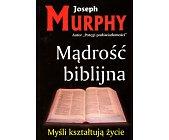 Szczegóły książki MĄDROŚĆ BIBLIJNA