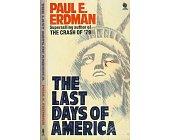 Szczegóły książki THE LAST DAYS OF AMERICA