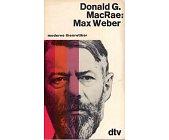Szczegóły książki MAX WEBER