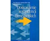 Szczegóły książki DOSKONALENIE KOMPETENCJI MENEDŻERSKICH