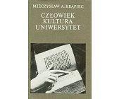 Szczegóły książki CZŁOWIEK, KULTURA, UNIWERSYTET