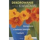Szczegóły książki DEKOROWANIE KWIATAMI
