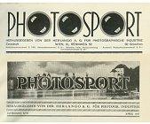 Szczegóły książki PHOTOSPORT - 1927