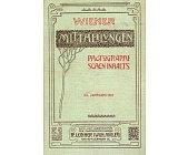 Szczegóły książki PHOTOGRAPHISCHEN INHALTS - 1915