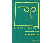 Szczegóły książki PISMA WYBRANE