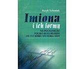 Szczegóły książki IMIONA I ICH FORMY