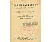 Szczegóły książki SYSTEM ZASTĘPOWY