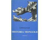 Szczegóły książki HISTORIA MONGOLII
