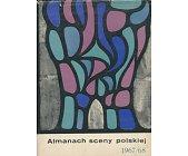 Szczegóły książki ALMANACH SCENY POLSKIEJ 1967 / 1968