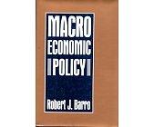 Szczegóły książki MACROECONOMIC POLICY