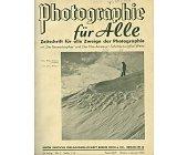 Szczegóły książki PHOTOGRAPHIE FUR ALLE - 1938