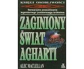 Szczegóły książki ZAGINIONY ŚWIAT AGHARTI