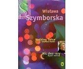 Szczegóły książki NIC DWA RAZY. NOTHING TWICE