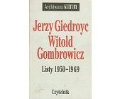 Szczegóły książki LISTY 1950-1969