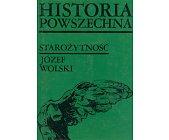 Szczegóły książki HISTORIA POWSZECHNA - STAROŻYTNOŚĆ
