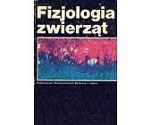 Szczegóły książki FIZJOLOGIA ZWIERZĄT