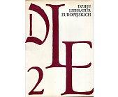Szczegóły książki DZIEJE LITERATUR EUROPEJSKICH - TOM 2 CZĘŚĆ 1 I 2