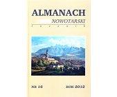 Szczegóły książki ALMANACH NOWOTARSKI