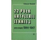 Szczegóły książki 22 PUŁK ARTYLERII LEKKIEJ