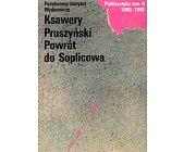 Szczegóły książki POWRÓT DO SOPLICOWA