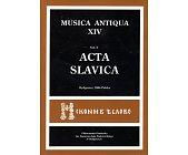 Szczegóły książki MUSICA ANTIQUA - TOM XIV - VOL 2. - ACTA SLAVICA