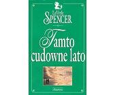 Szczegóły książki TAMTO CUDOWNE LATO