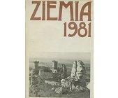 Szczegóły książki ZIEMIA 1981