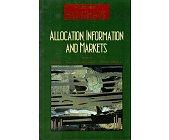 Szczegóły książki ALLOCATION, INFORMATION AND MARKETS