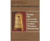 Szczegóły książki ROCZNIK ORIENTALISTYCZNY