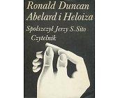 Szczegóły książki ABELARD I HELOIZA