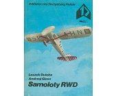 Szczegóły książki SAMOLOTY RWD