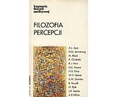 Szczegóły książki FILOZOFIA PERCEPCJI