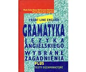 Szczegóły książki GRAMATYKA JĘZYKA ANGIELSKIEGO - WYBRANE ZAGADNIENIA