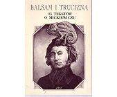 Szczegóły książki BALSAM I TRUCIZNA