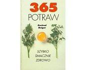 Szczegóły książki 365 POTRAW