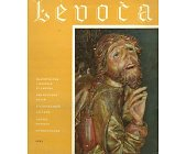 Szczegóły książki LEVOCA