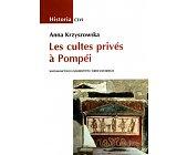 Szczegóły książki LES CULTES PRIVES A POMPEI