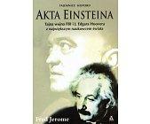 Szczegóły książki AKTA EINSTEINA