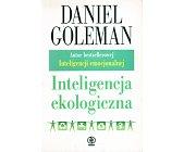 Szczegóły książki INTELIGENCJA EKOLOGICZNA