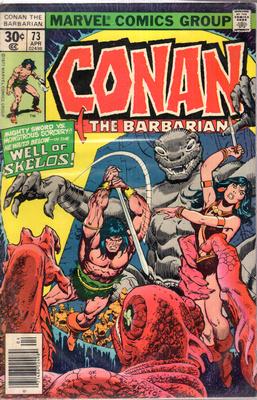CONAN THE BARBARIAN - HE WHO WAITS...