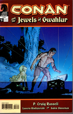 CONAN AND THE JEWELS OF GWAHLUR - VOL 3