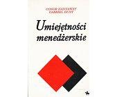 Szczegóły książki UMIEJĘTNOŚCI MENEDŻERSKIE