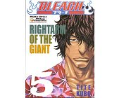 Szczegóły książki BLEACH - 5 - RIGHTARM OF THE GIANT